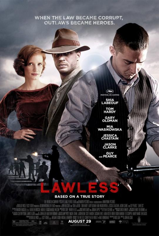 Movie Review: 'Lawless' triumphs with moonshine to spare
