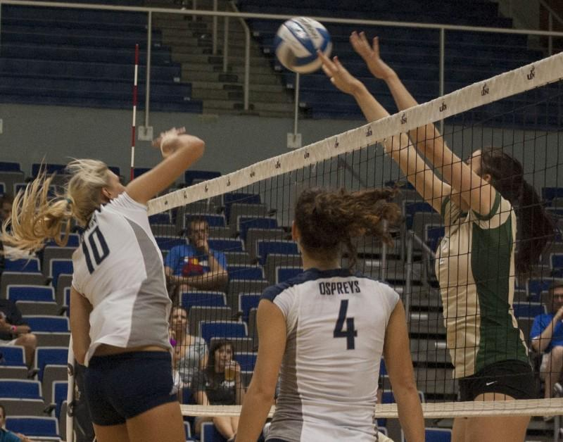 Volleyball downs Dolphins