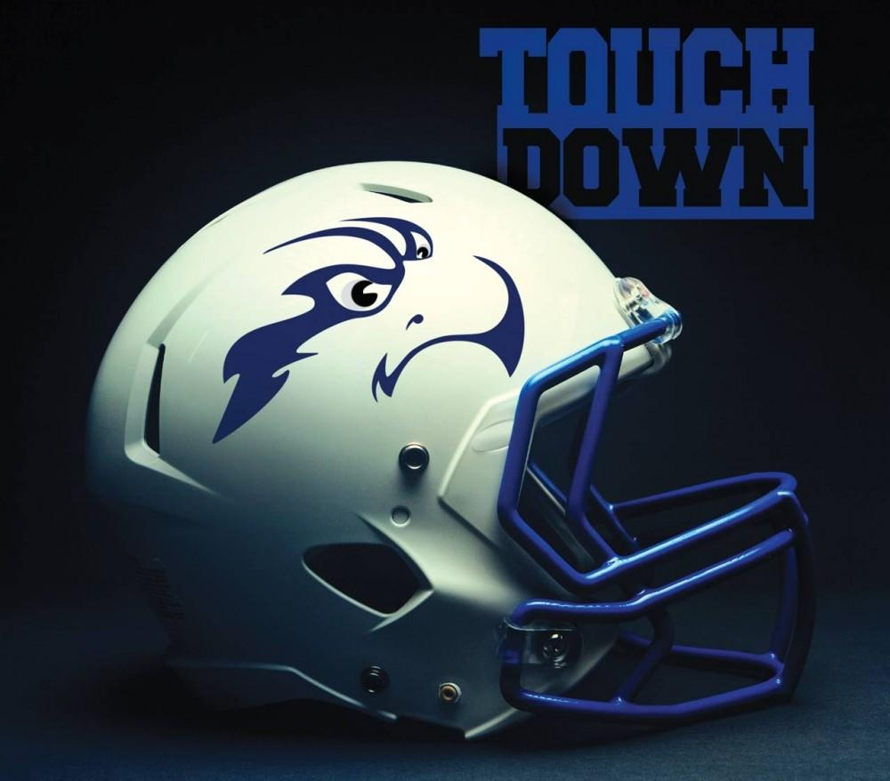 UNF Football Helmet