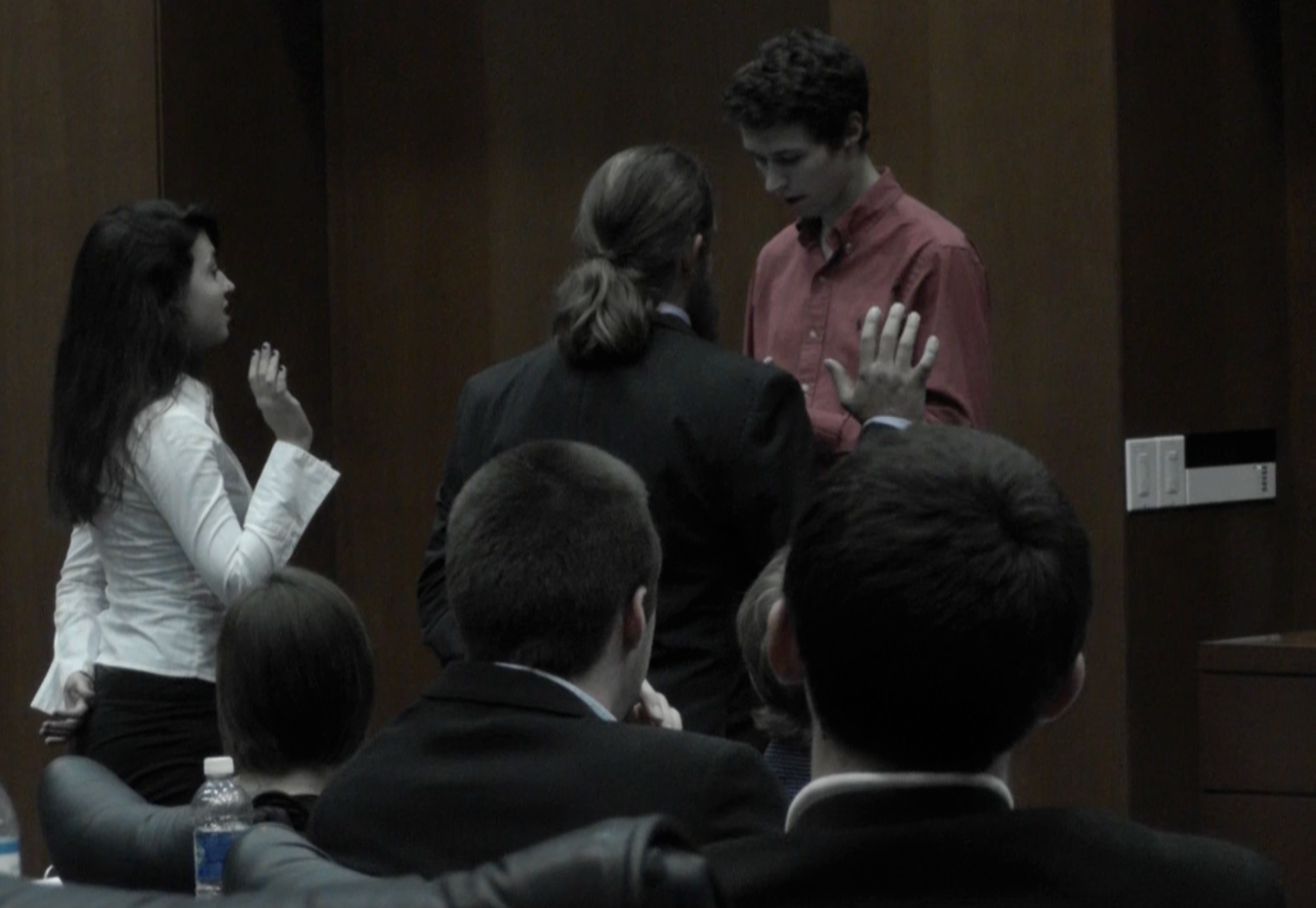 New senators sworn in.