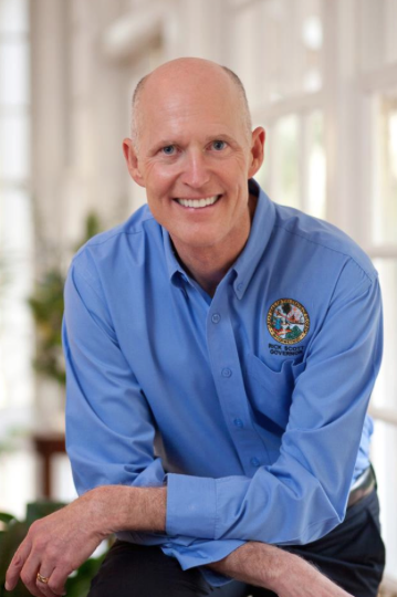 Florida Governor Rick Scott. Photo via Facebook.