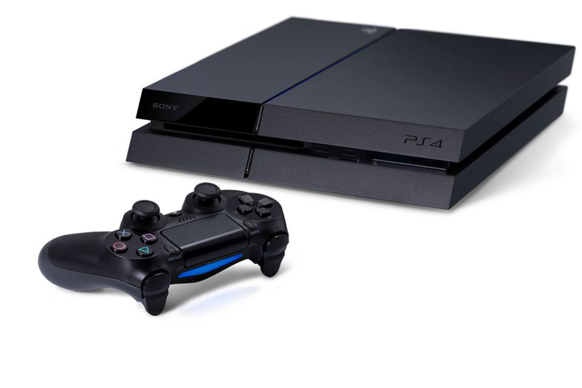 The PS4 is smaller and more sleek than its predecessor, the PS3.