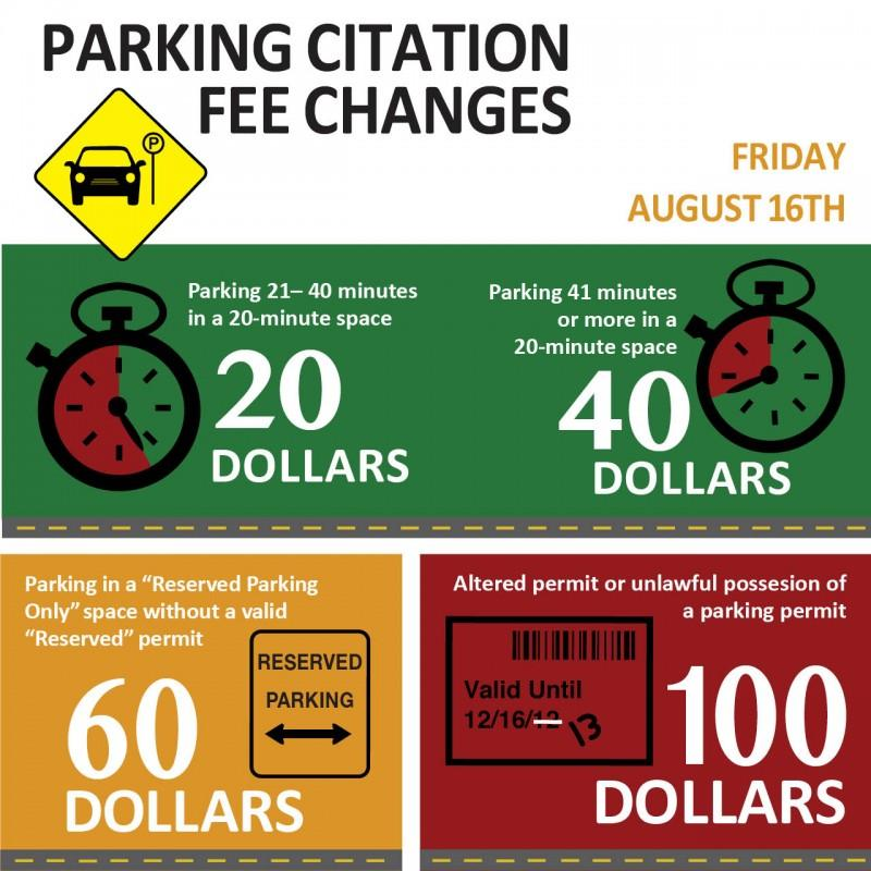 Parking Citation Infographic