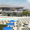 The Clubhouse will include a swimming pool and game room. Image courtesy of UNF