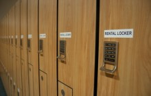 Rental lockers in the Wellness Center will keep the digital locks. Photo by Gabby LoSchiavo.