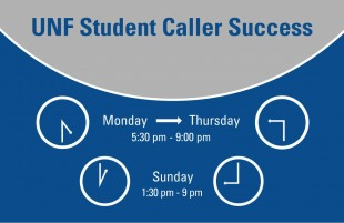 Opinion: UNF student callers work hard, gain results