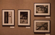 """Photos from the exhibit titled, """"On Fertile Ground: the Wing Lee Yuen Truck Farm."""" Photo by Josh Brangenberg"""