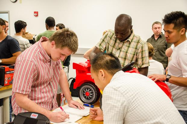 Engineering course rebuilds children's toy cars to aid in rehabilitation