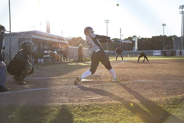 Softball team dominates FAMU 8-1
