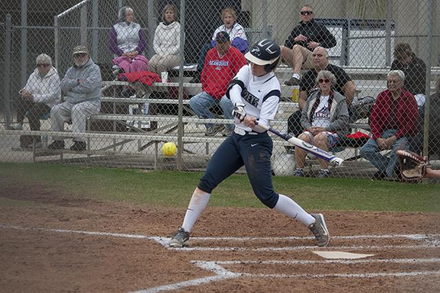 Softball team wins double header against Stony Brook