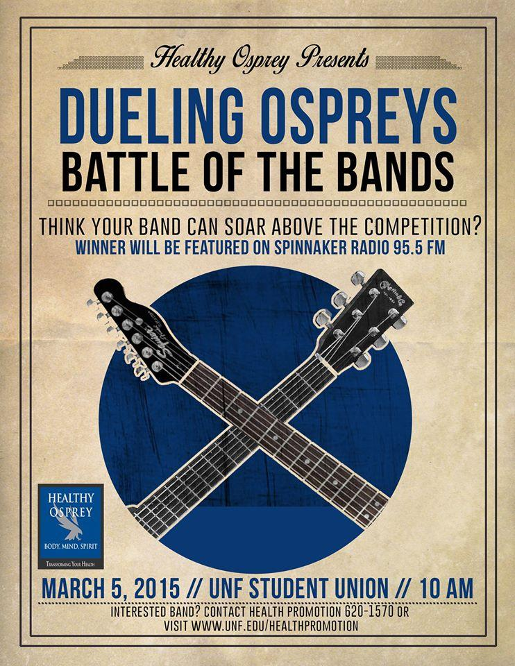 UNF Spinnaker : Two shows, one day: UNF Healthy Osprey and ...