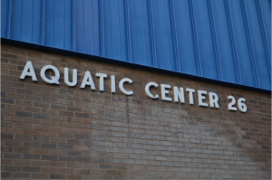 The Andy W. Sears Natatorium was opened to students on Dec. 4, 1987 as a swimming facility.Photo by Jordan Ferrell