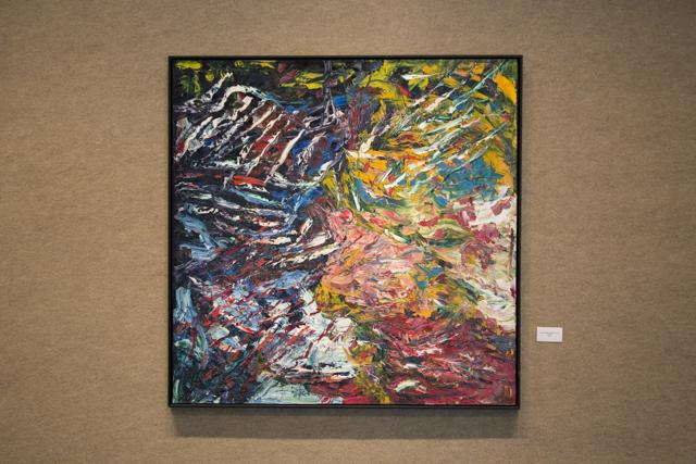 Swirling strokes create 'UNITY': abstract series on display at UNF