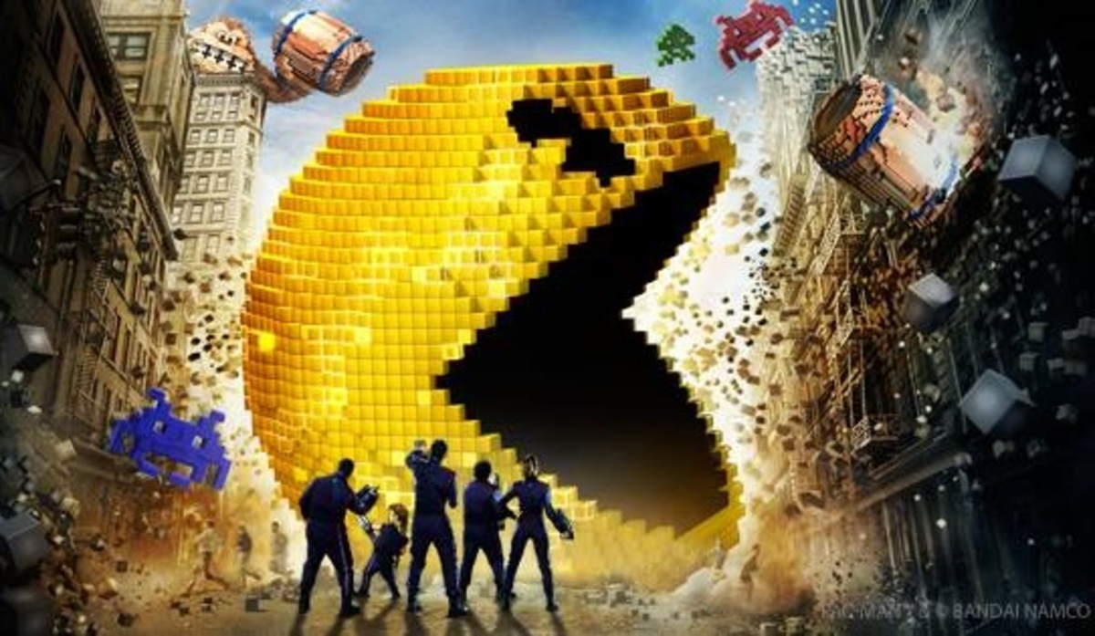 Now Playing: 'Pixels,' a low-resolution comedy