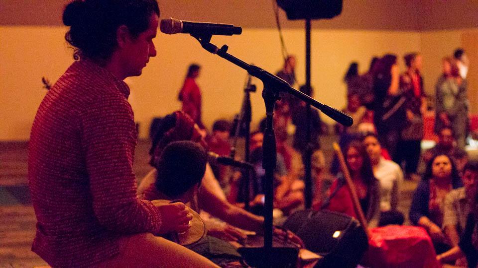 Krishna concert brings culture to campus