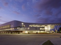 The UNF Student Wellness Complex is the only building in Jacksonivlle to make the AIA's Top 10.  Photo courtesy of UNF.