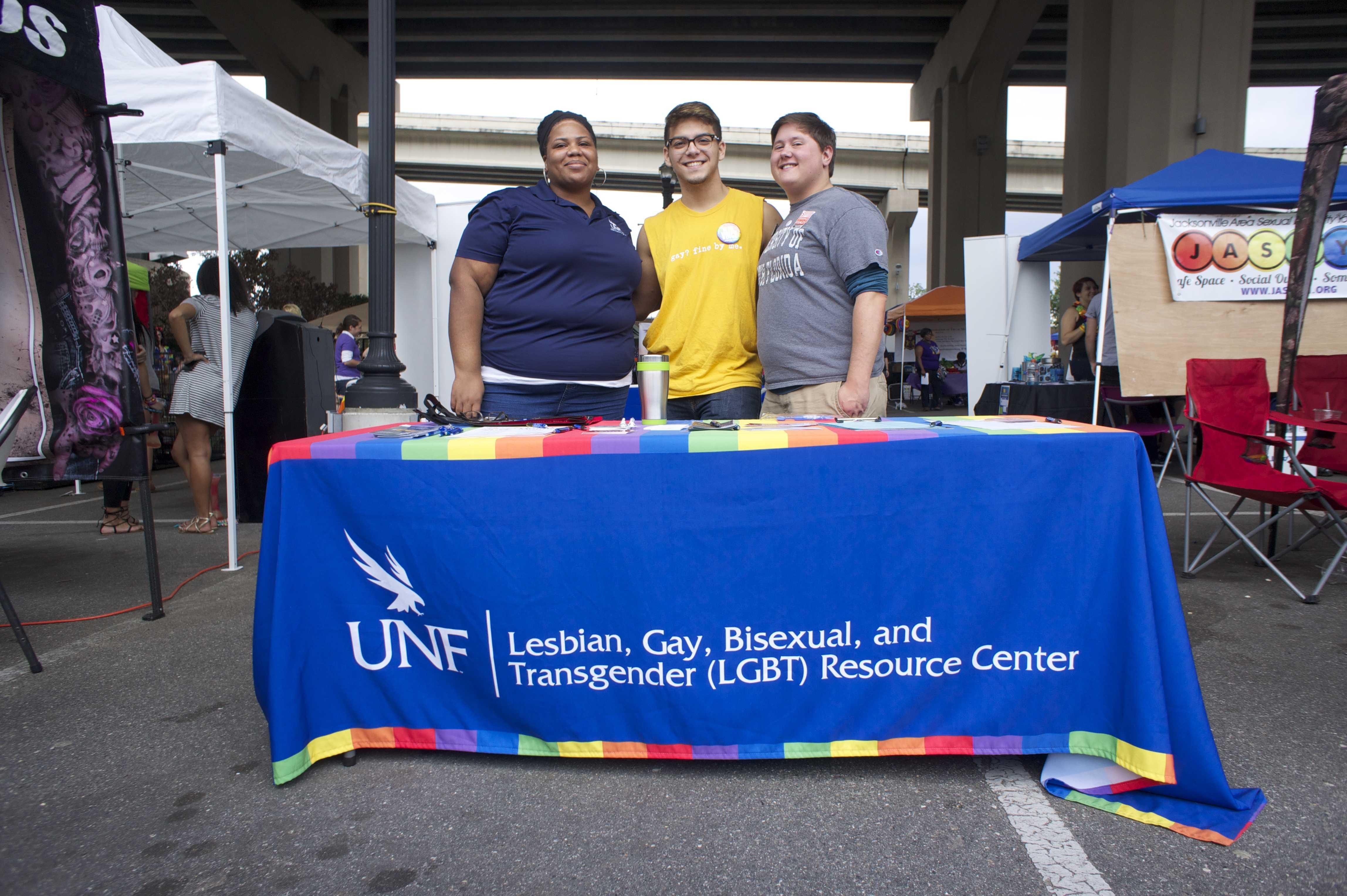 LGBT Center represents UNF at River City Pride Festival