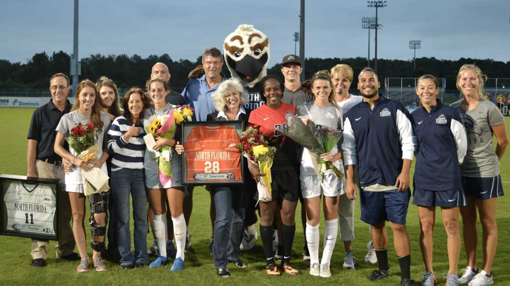 UNF victorious over Stetson 2-1 on senior night
