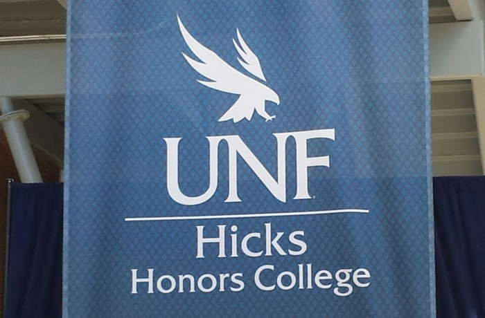 UNF will be the sixth university in Florida to house an Honors College.  Photo by Christian Ayers