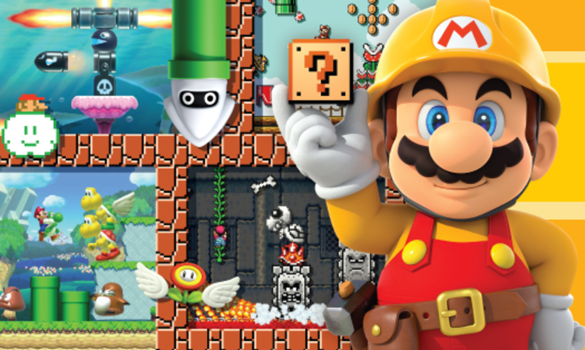 Video Game Review: Super Mario Maker takes game creation to the next level