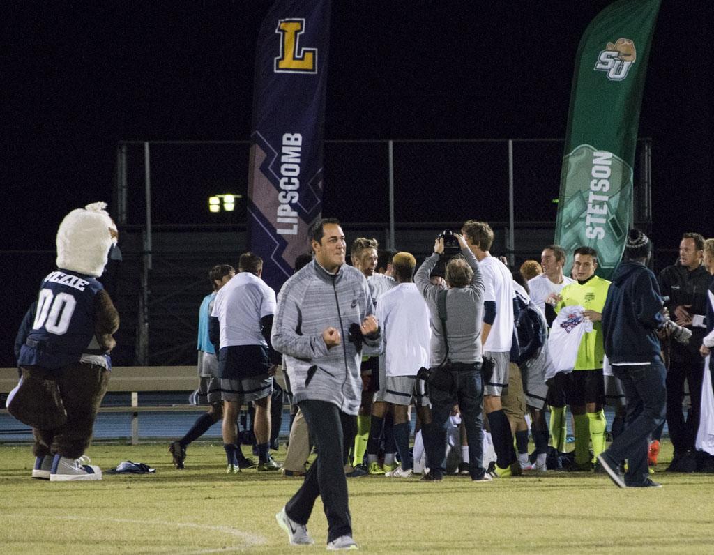 Men's soccer dominates in Atlantic Sun championship 7-0