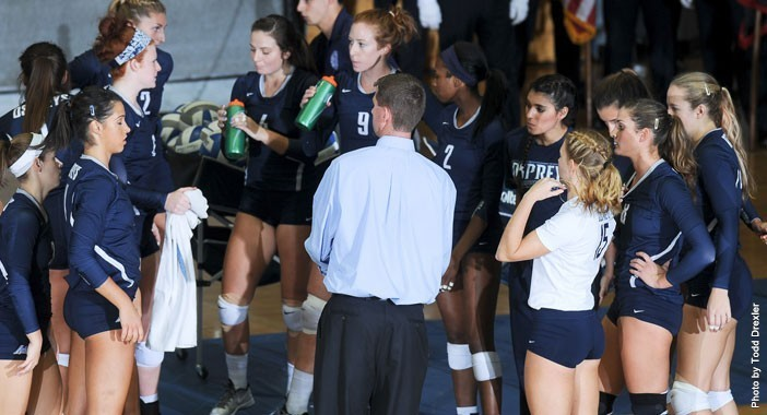 UNF volleyball finished 2-2 in its four-game road trip.  Photo courtesy of UNF Athletics
