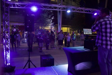 Light up the Lake event kicks off the end of the semester