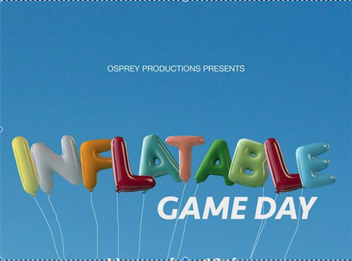 Osprey Productions to host Inflatable Game Day event