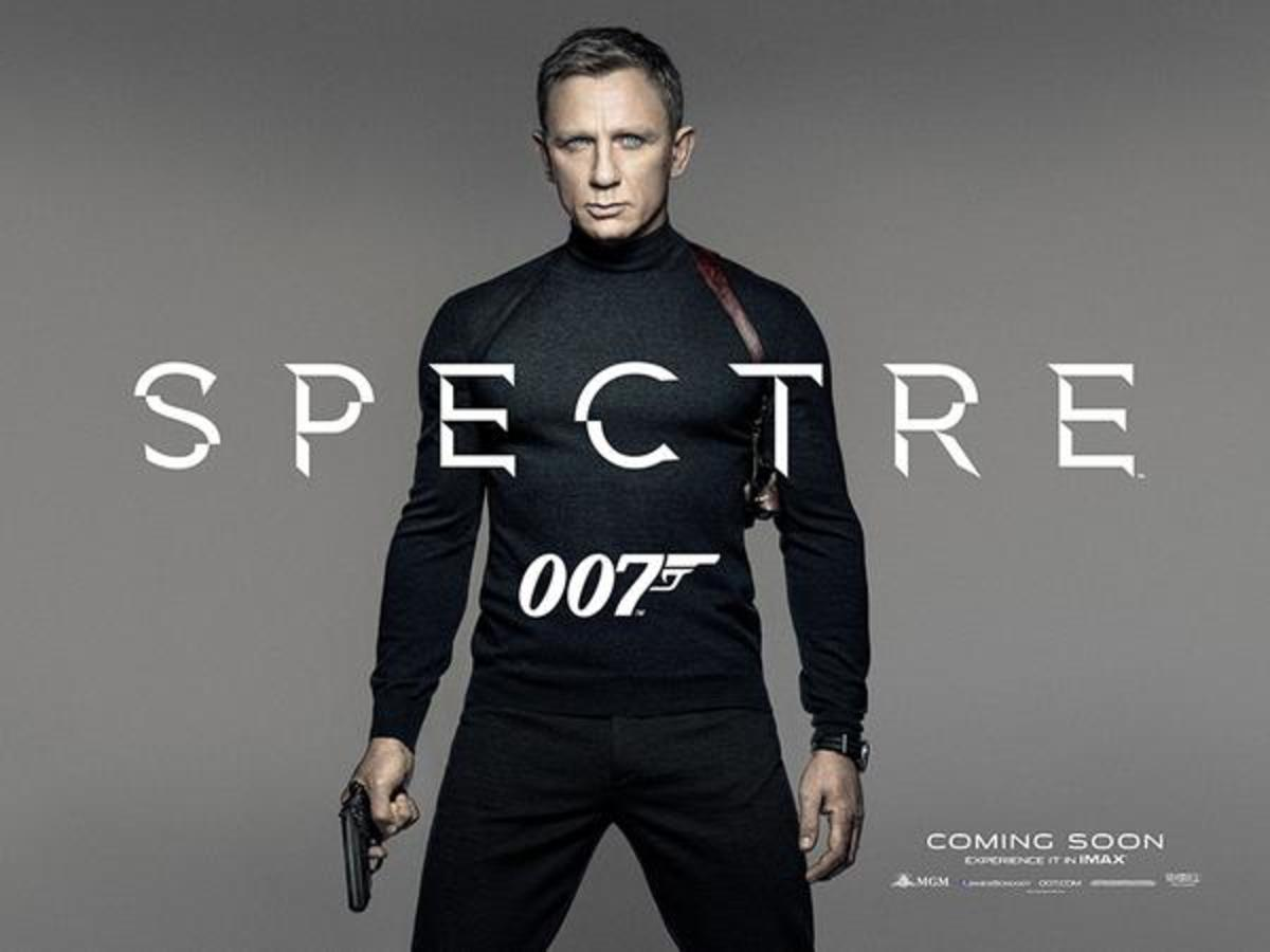 Now Playing : Spectre