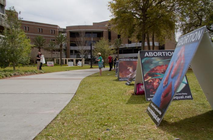 Graphic abortion display is back this week