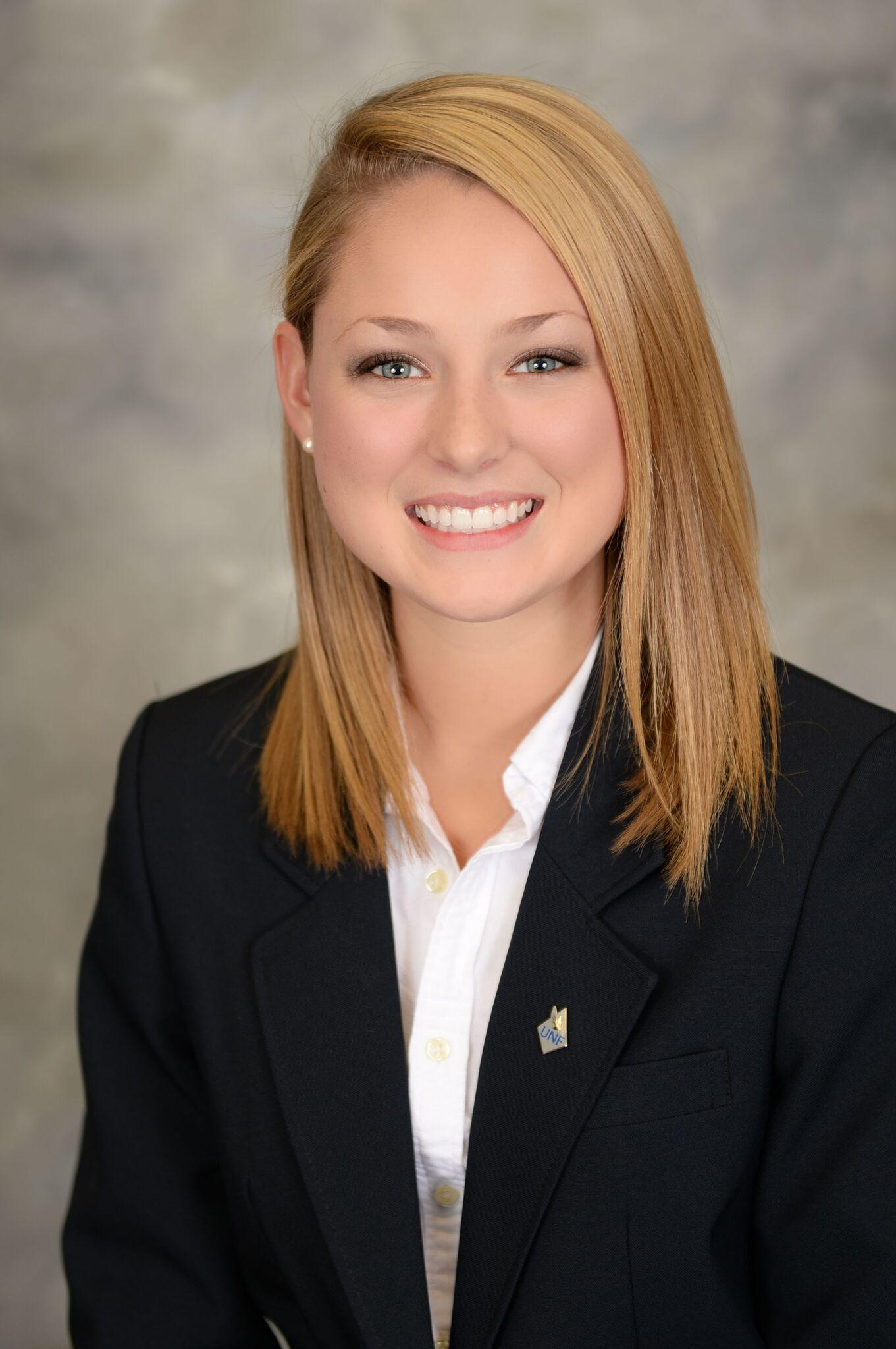 Caroline Dodd started out in the Presidential Envoys during her freshman year and is now the student president of the program.