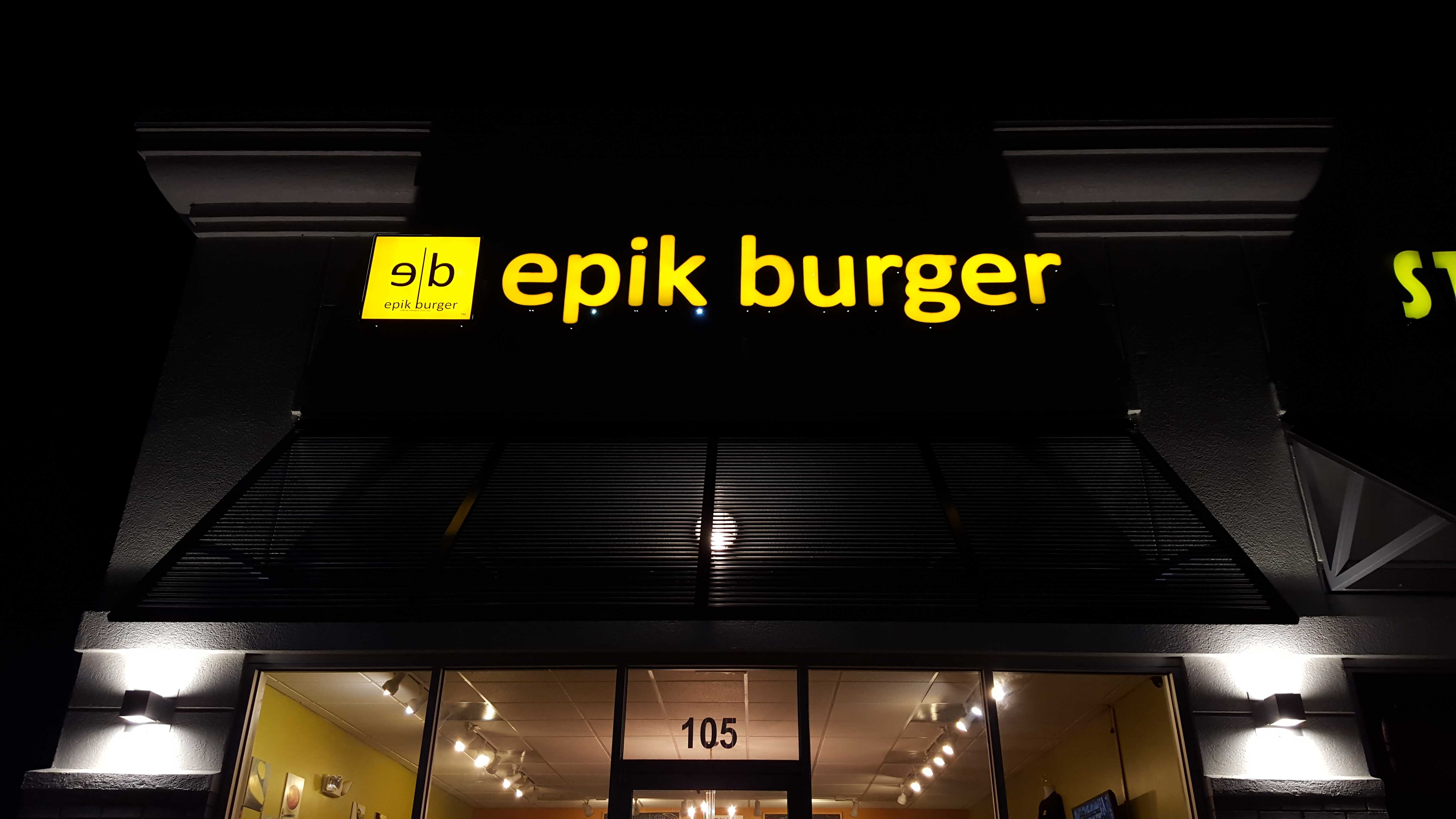 Local Eatery of the Week: Epik Burger