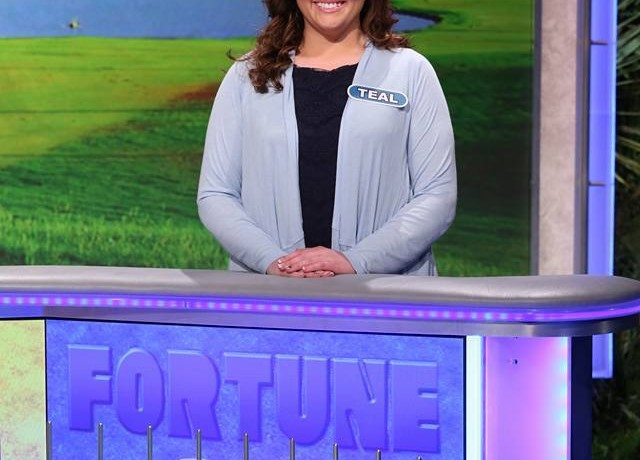 "Teal Kane was fortunate enough to participate on ""Wheel of Fortune,"" and her hard work paid after she winning  $10,000 on the show. (Photo courtesy of Teal Kane)"