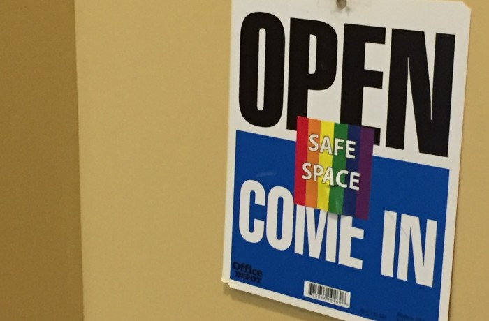 The LGBT Resource Center is one of many safe spaces on UNF's campus. Photo by Cassidy Alexander