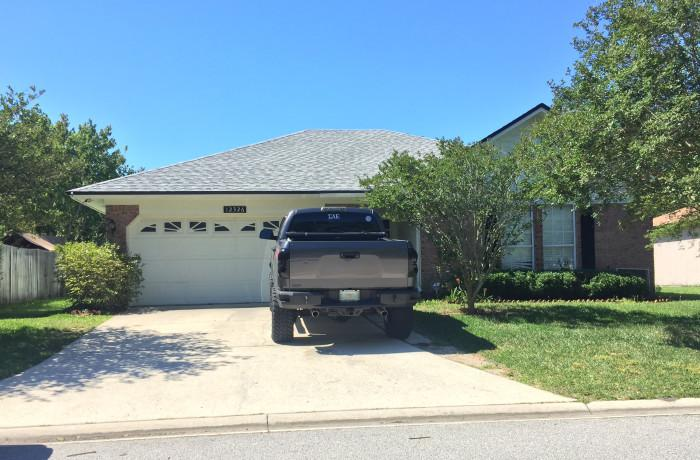 This residence off Kernan Blvd. where three UNF students live was burglarized early on April 25. Photo by Mark Judson