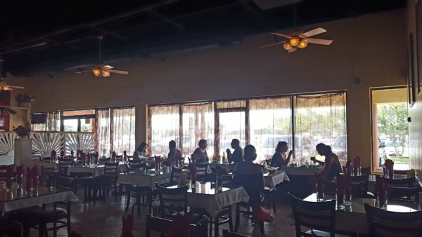 India's Restaurant on Baymeadows Road has simple decorations and soft music, which makes this eatery great for focusing on work or dining with friends. Photo by Courtney Stringfellow