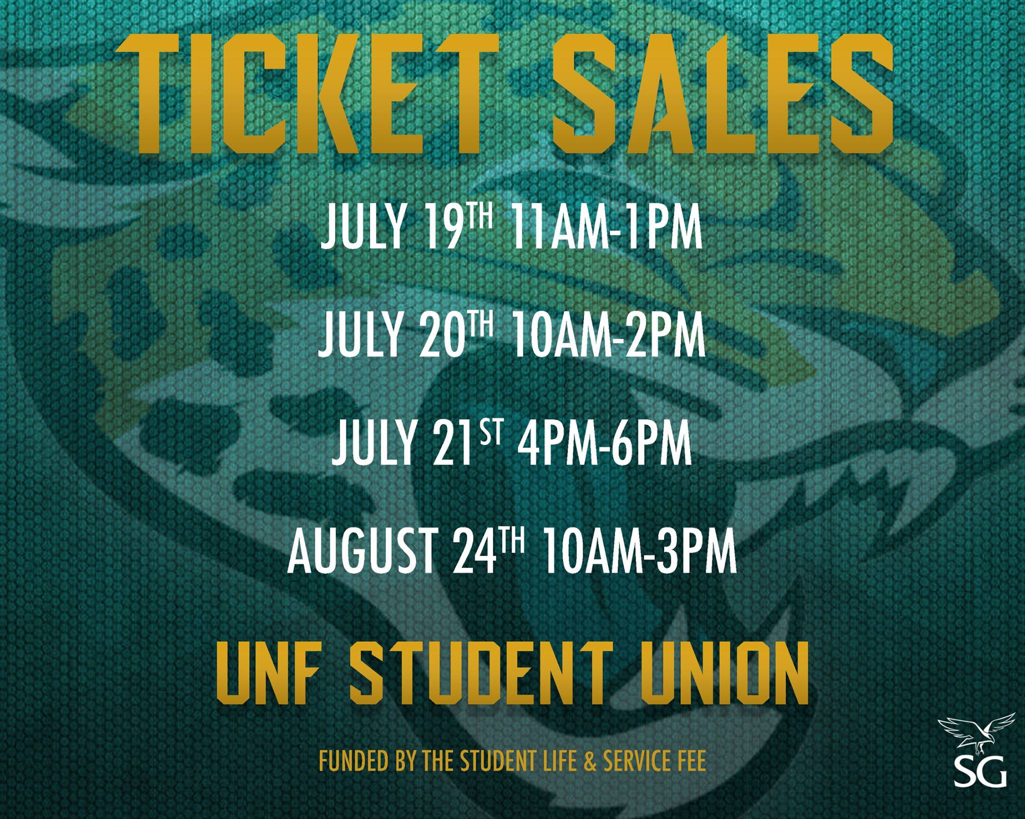 Student ticket sale dates for Jacksonville Jags season passes are out