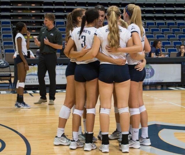 Ospreys split conference play over the weekend