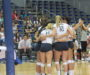 Volleyball falls to FAMU