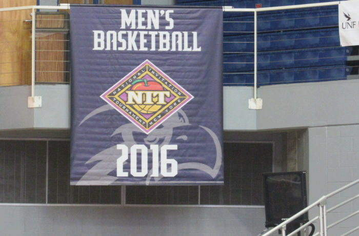 The Ospreys received two banners recognizing their accomplishments last season.