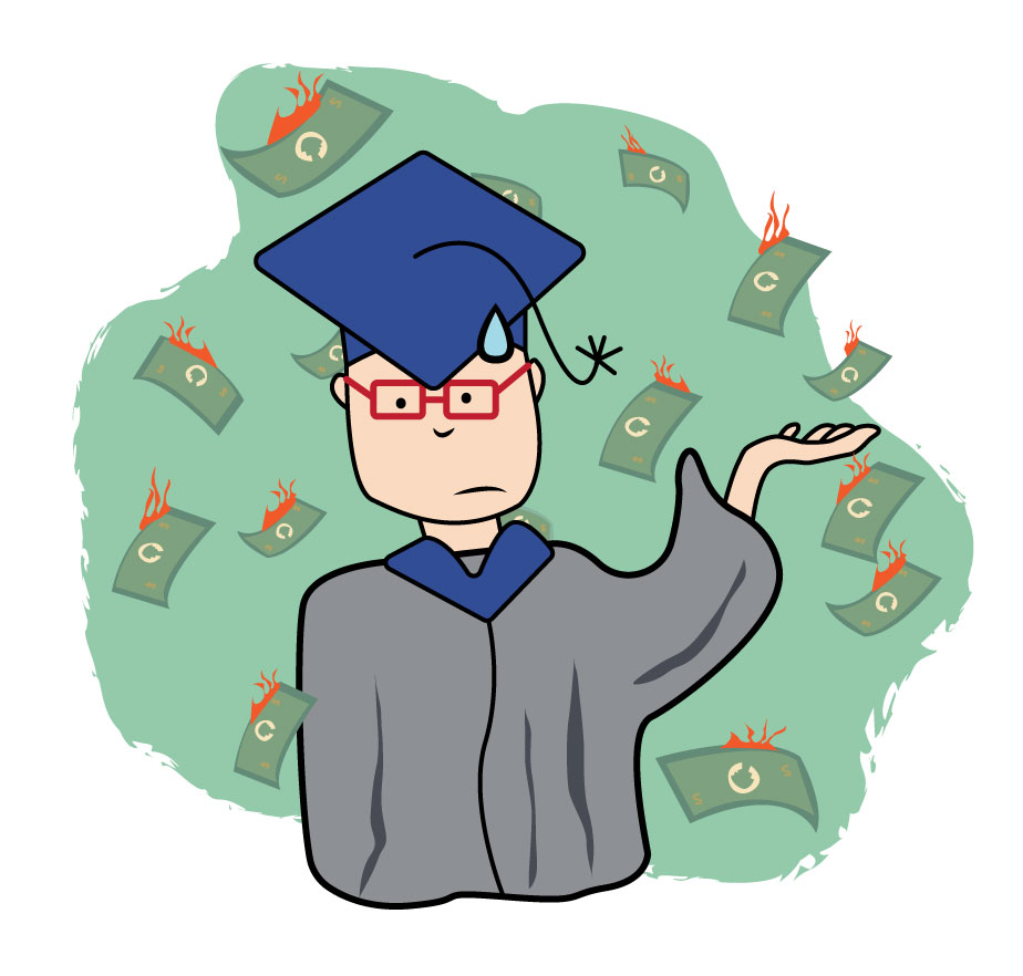 Doing the math: The cost of college