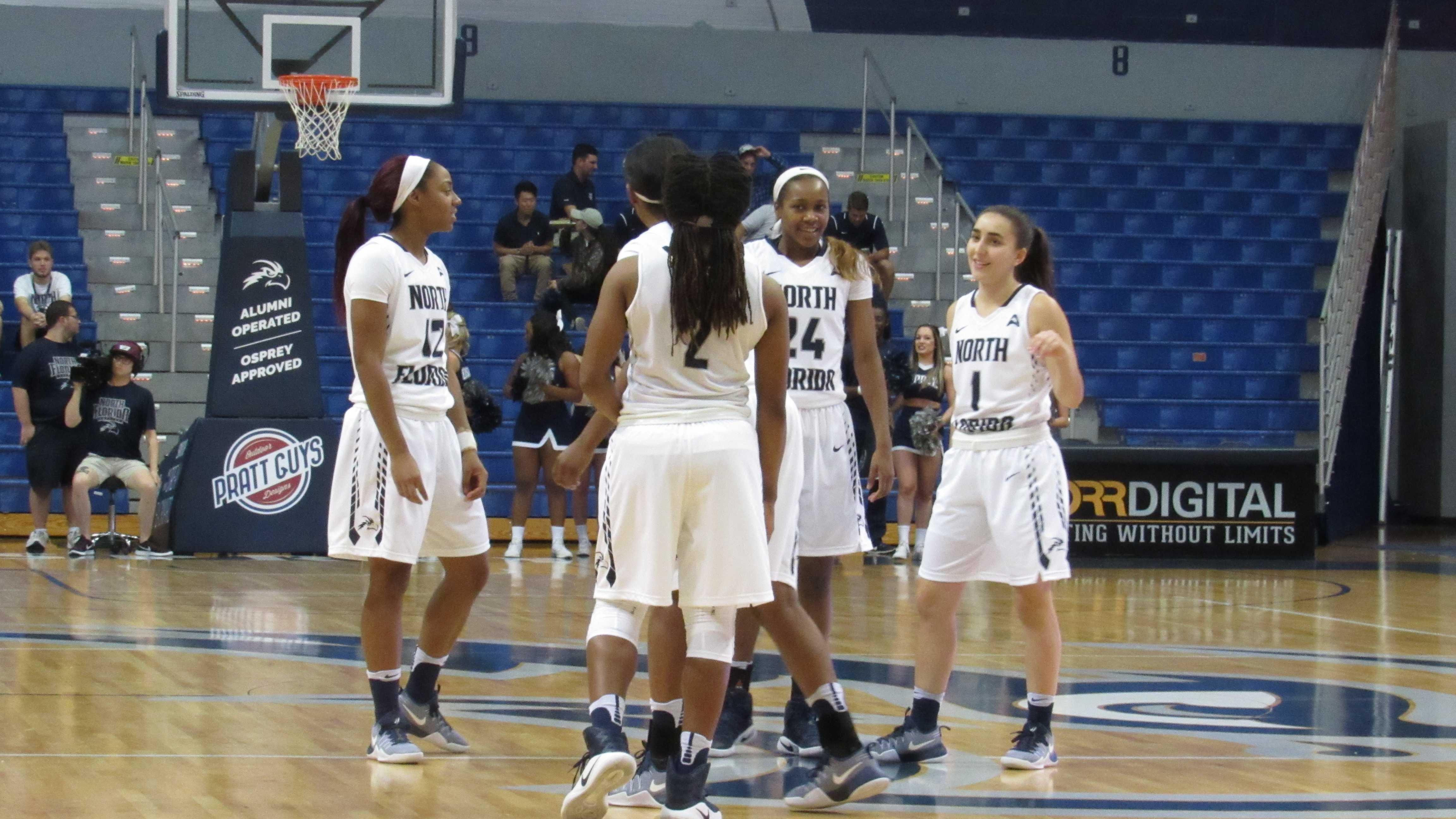 Women's basketball bounce back netting 100 points