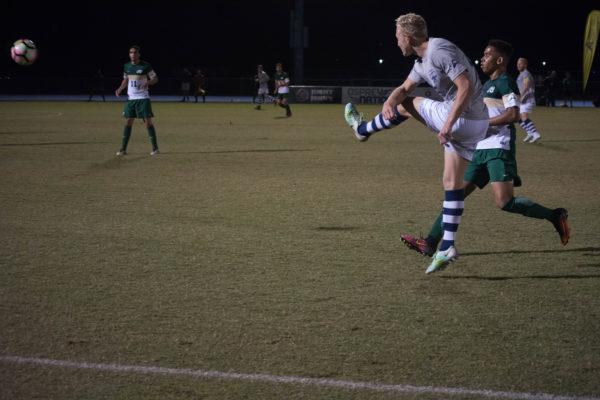 Men's soccer. Photo by Lili Weinstein