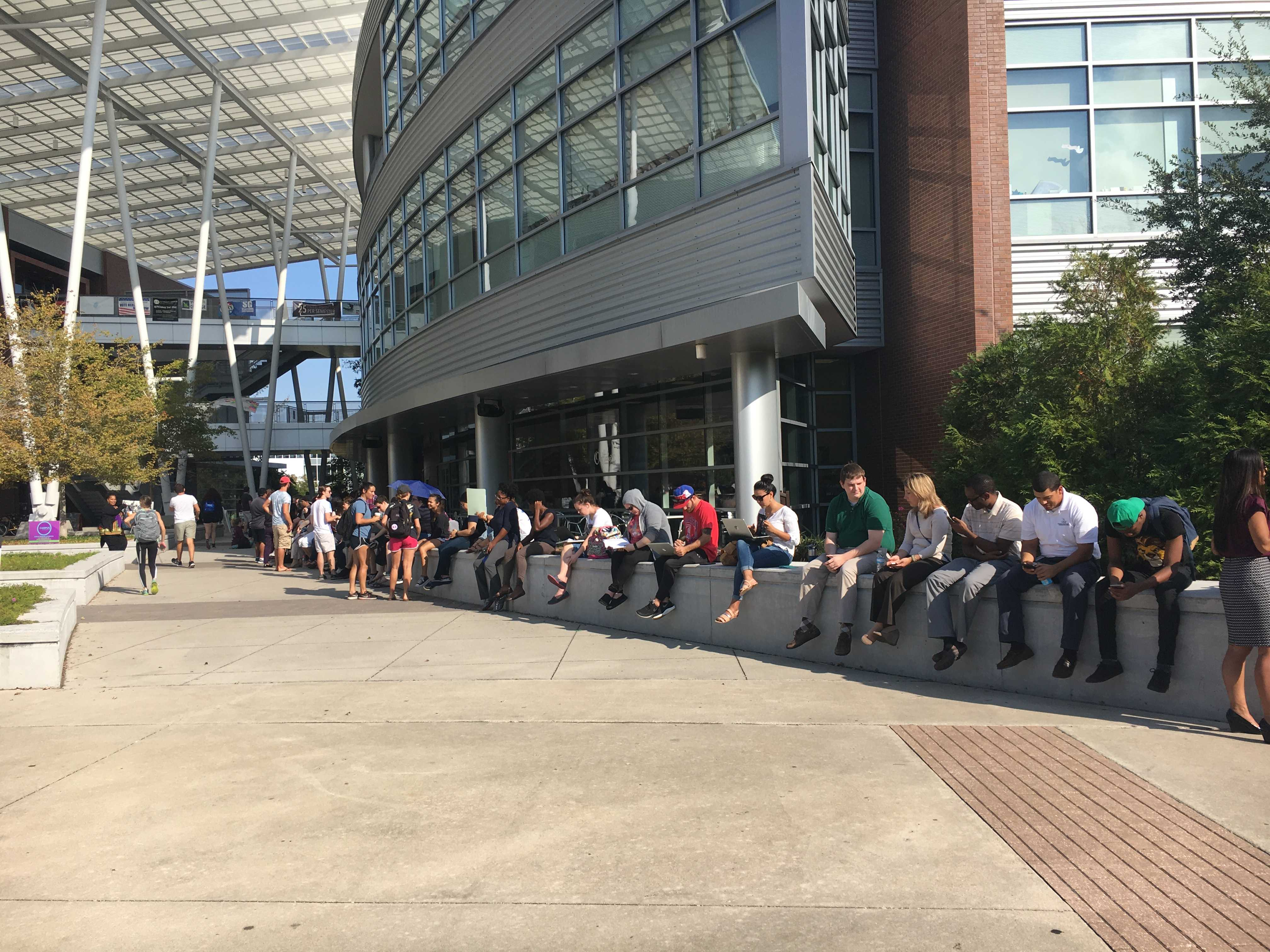 Over 1,000 students line up to get tickets for Obama