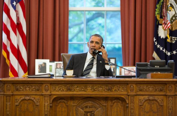 President Barack Obama. Courtesy of Flickr