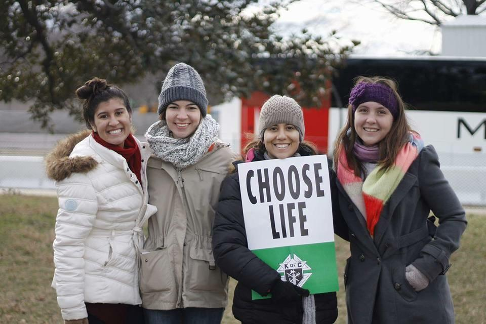 Catholic Ospreys march for life in D.C.