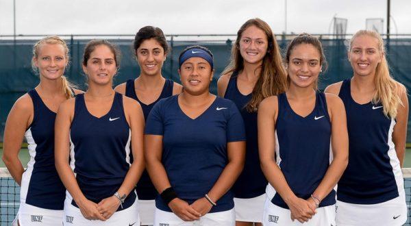 UNF Women's Tennis. Photos courtesy of UNF Athletics