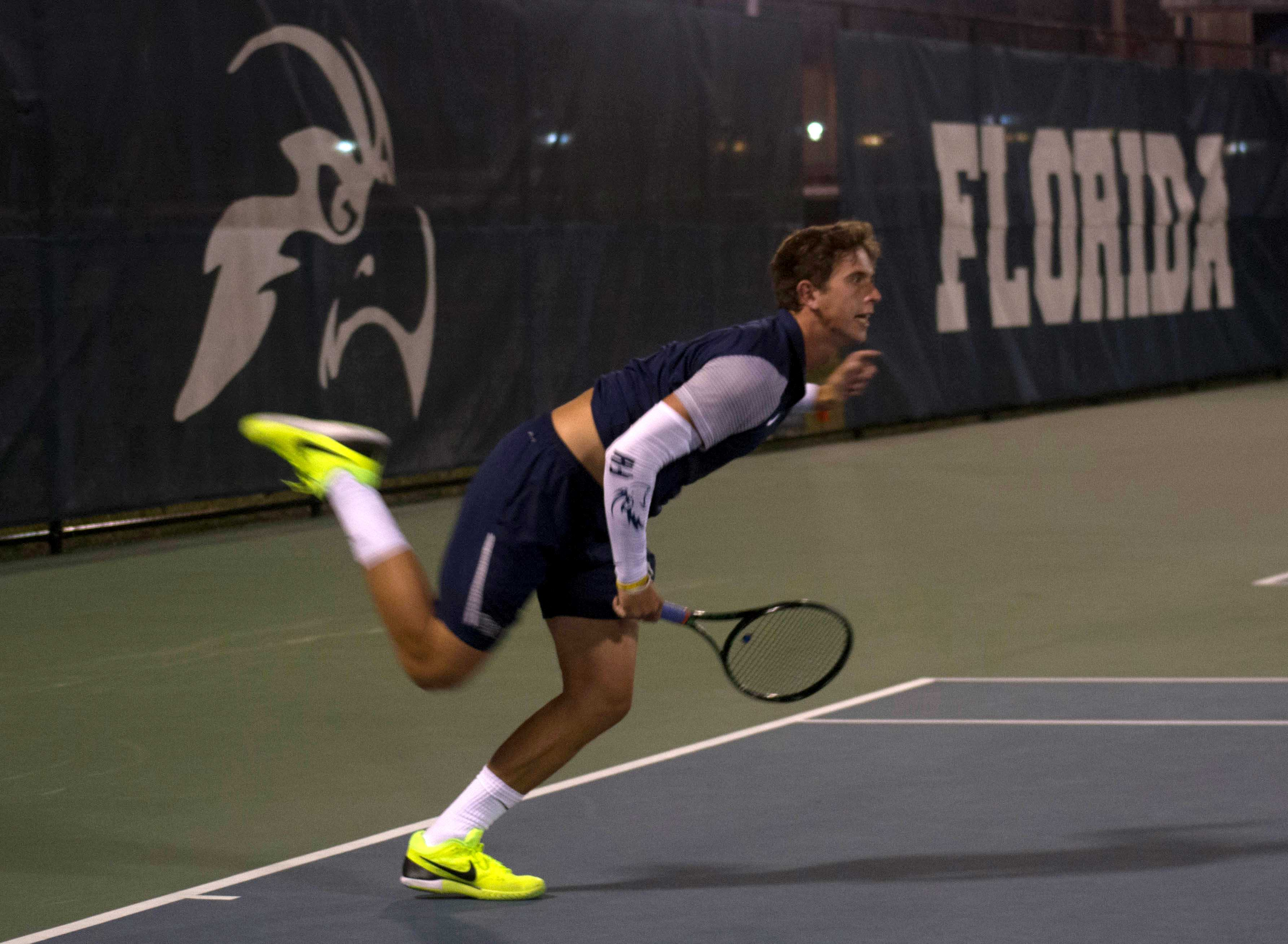 Osprey tennis home opener brings three wins and a loss