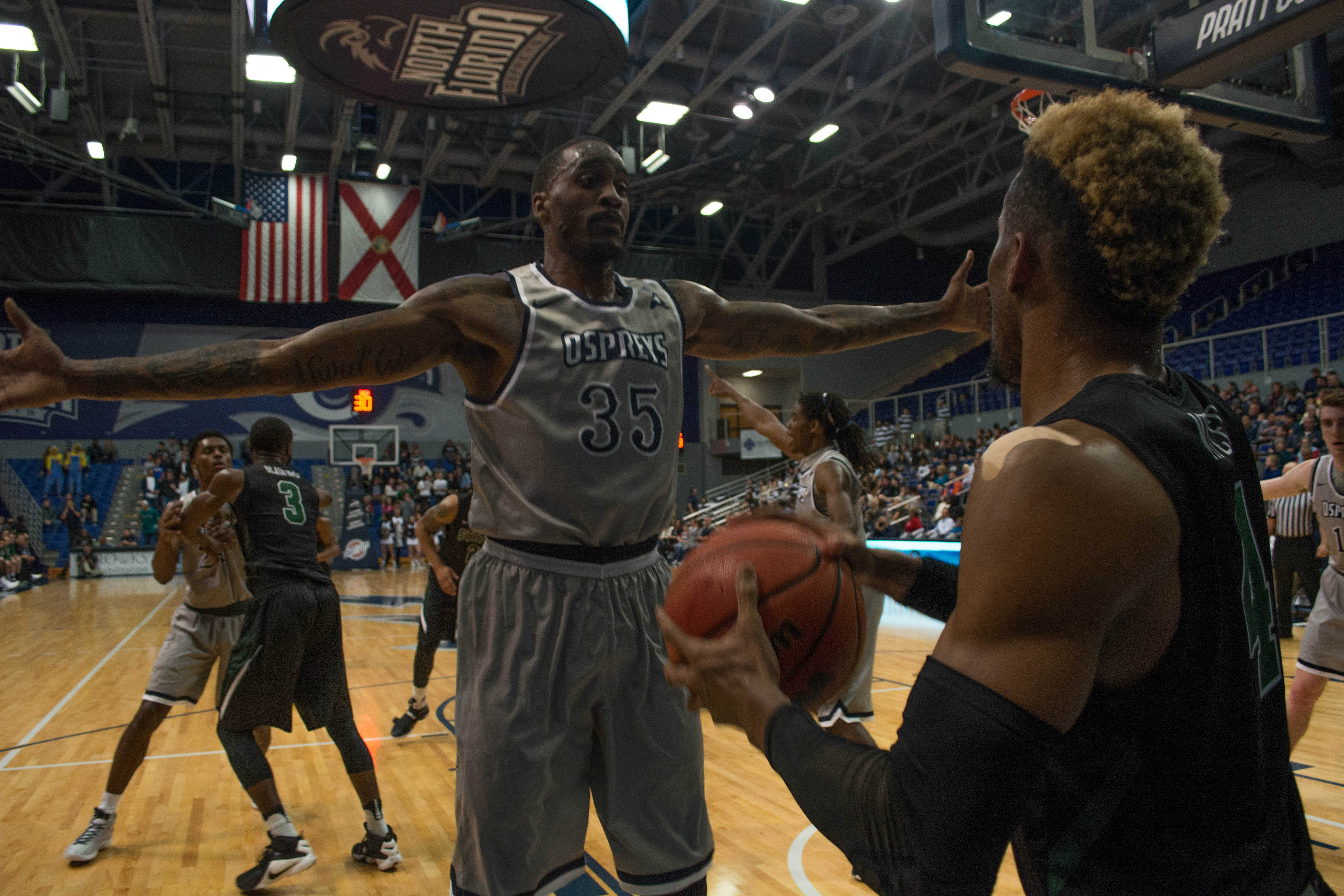 Ospreys dominate rematch with Stetson 96-64
