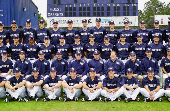 UNF baseball team.  Photos courtesy of UNF athletics